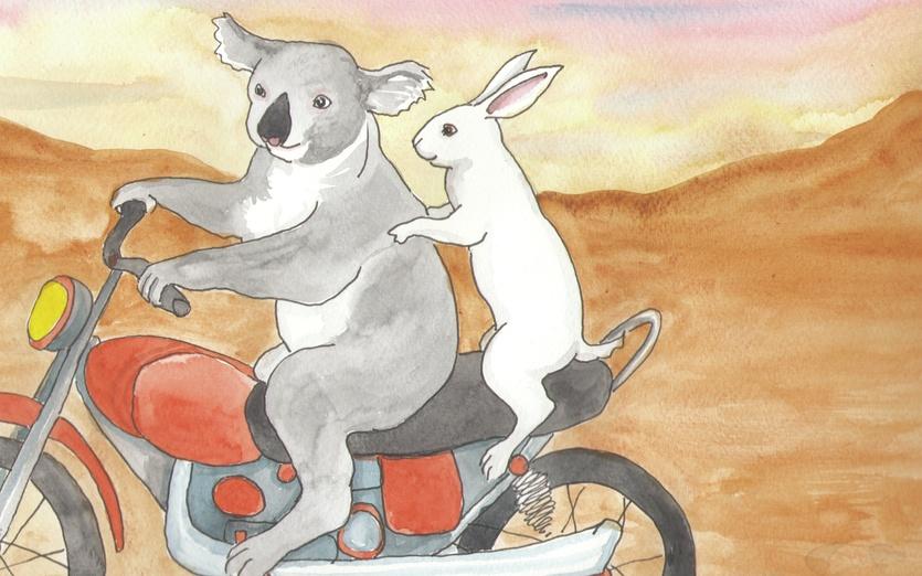 - adorable, art, best, bike, bunny, cartoon, cartoony