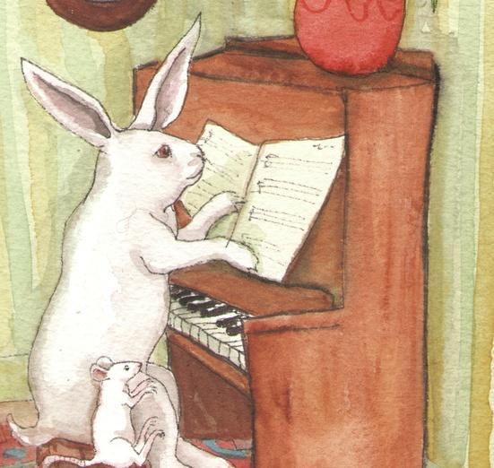 - adorable, bunny, carpet, cartoon, cartoony, colored, colorful