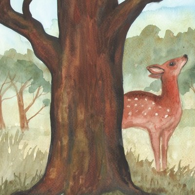 Fawn tree