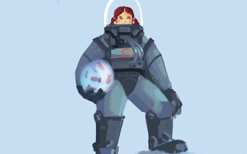 - armor, fantasy, fiction, fish, girl, science, sea