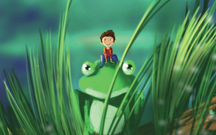 - big, boy, fantasy, frog, fun, odd, water