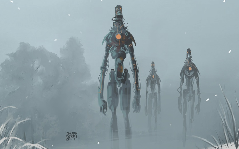 Giants zombie robot