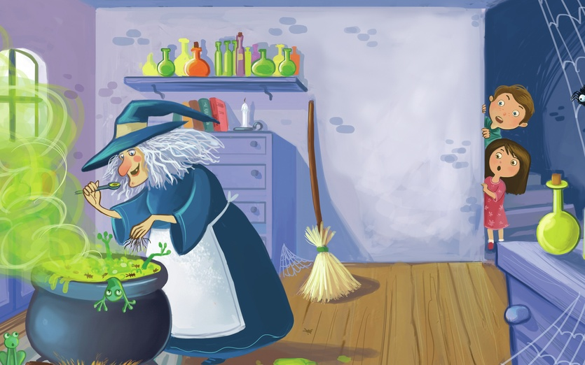 In The Witch Room By The Art Of Claudio Cerri On Storybird
