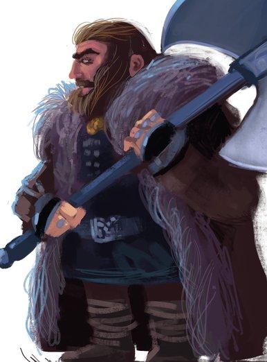 Fantasy Dwarf By The Art Of Claudio Cerri On Storybird