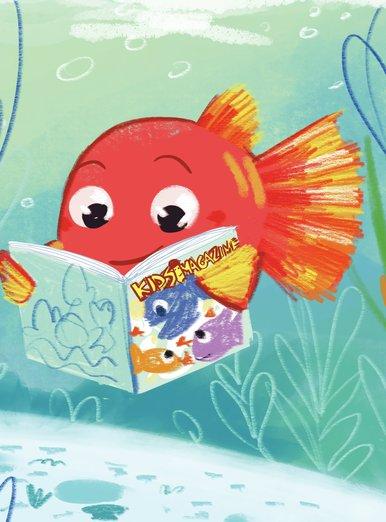 Reading underwater