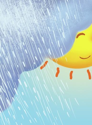 The rain and the sun