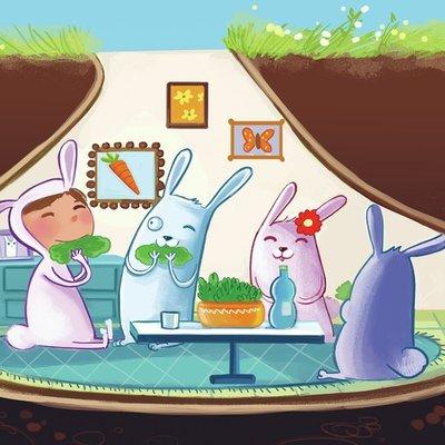 Rabbit's house