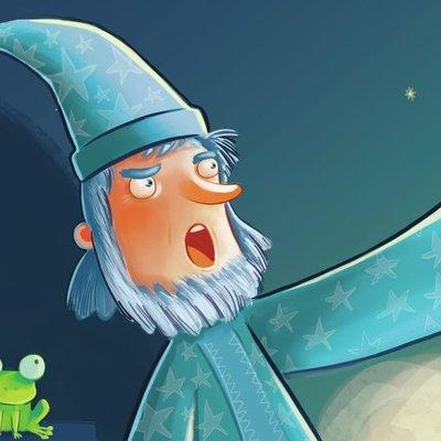 Sorcerer and frog