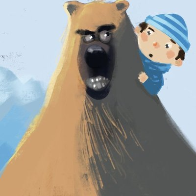 The bear and the boy