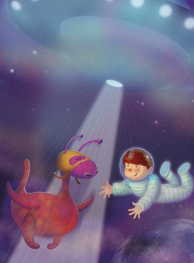 Alien and Astronaut