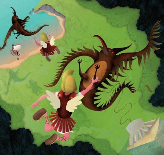 - adventure, and, argonauts, blue, cartoon, cartoony, colored