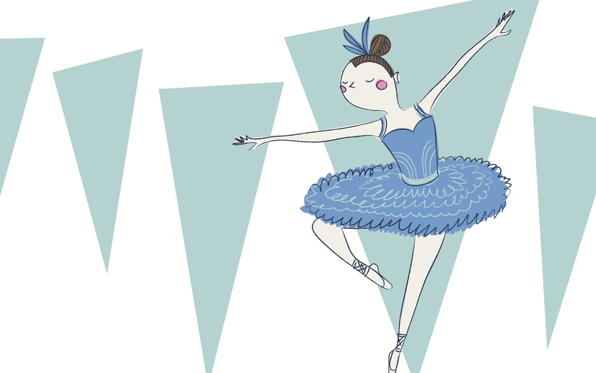 - adorable, athletic, ballerina, ballet, black, blue, brightcolored