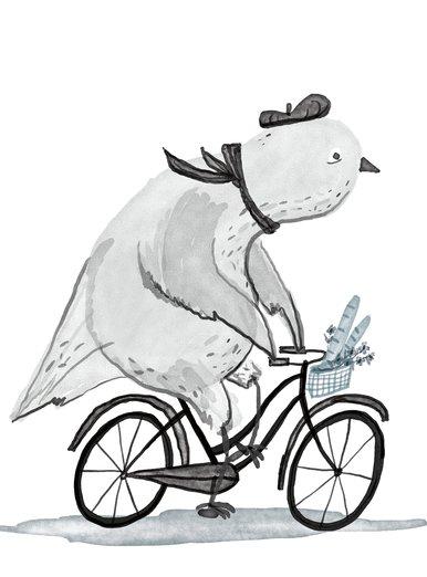 Pigeon runs errands