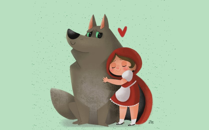 My Friend The Wolf By LittlePoetryPup