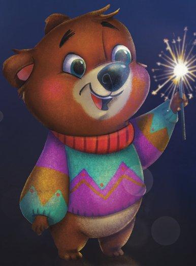 New Year's Bear