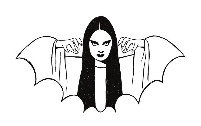 - art, bad, bat, black, claw, claws, cloak
