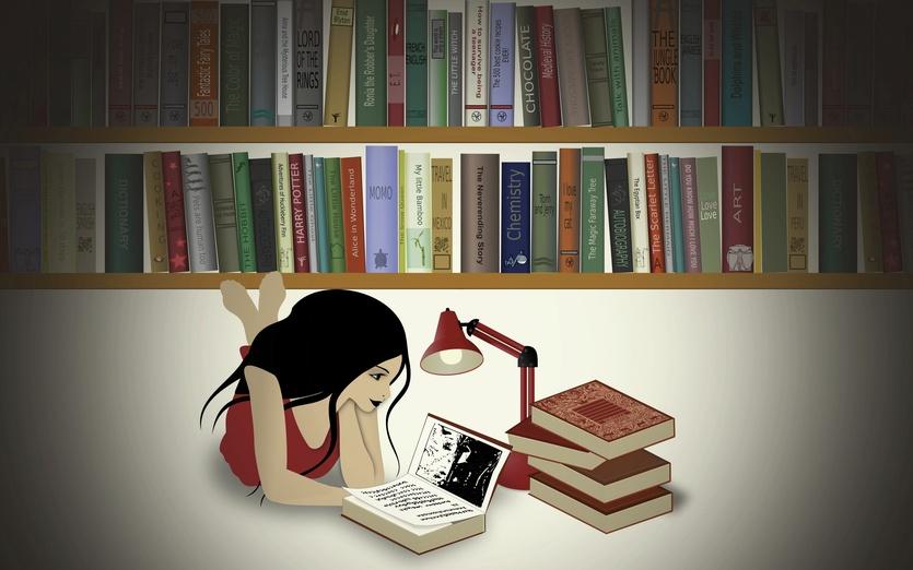 - art, beige, book, books, digital, evening, franzi