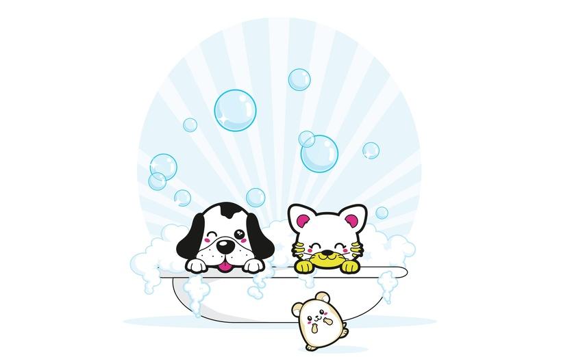 - adorable, bath, black, blue, brightcolored, brightcolors, bubbles