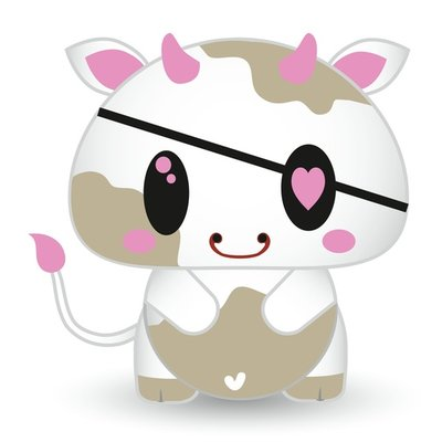 Baby cow!