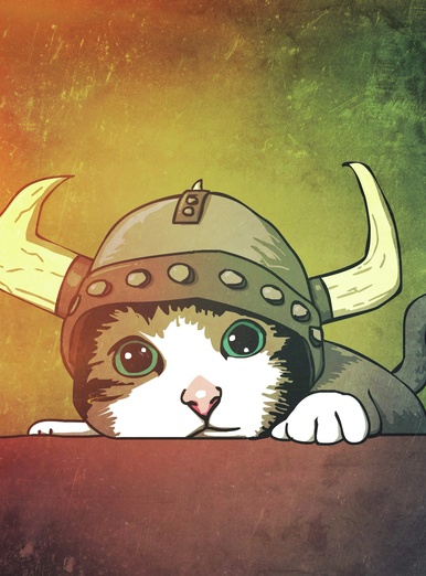 Viking Kitty
