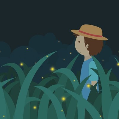 Fireflies Field