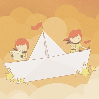 Imaginary Paperboat
