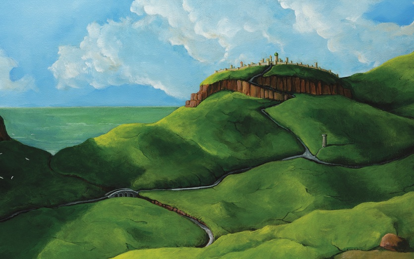 - adventure, birds, blue, boy, bridge, brown, city