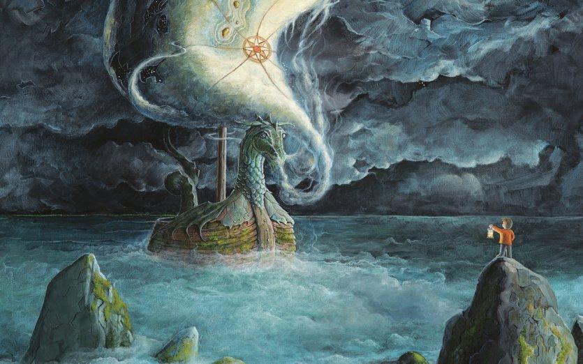 - adventure, black, blue, boat, boulder, boy, child