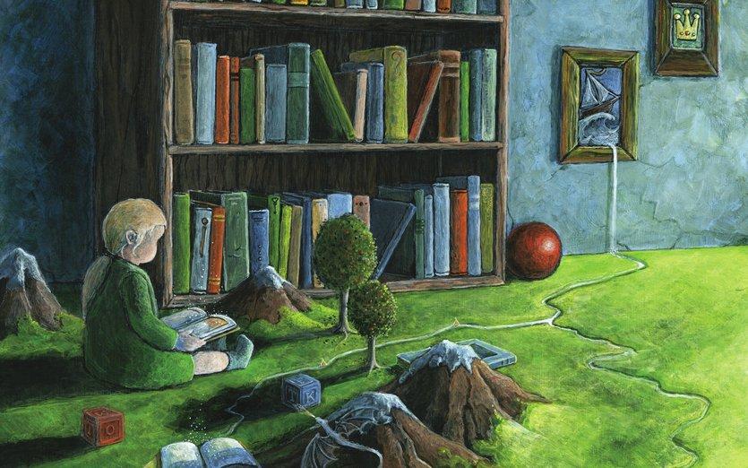 - ball, blocks, blue, boat, books, carpet, child
