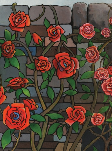 Stained Glass Roses By Imaginings On Storybird