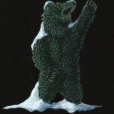 The Bear Topiary