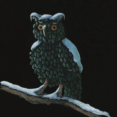 The Owl Topiary