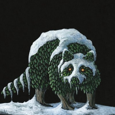 The Raccoon Topiary
