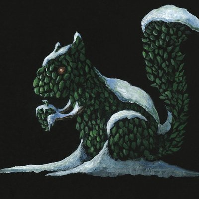 The Squirrel Topiary