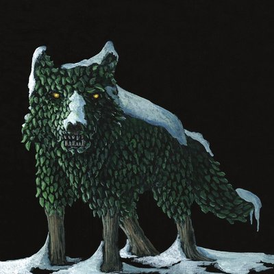 The Wolf Topiary