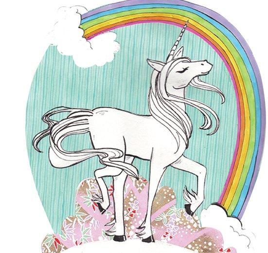 - clouds, creatures, elegant, fairytale, magic, mythical, rainbow