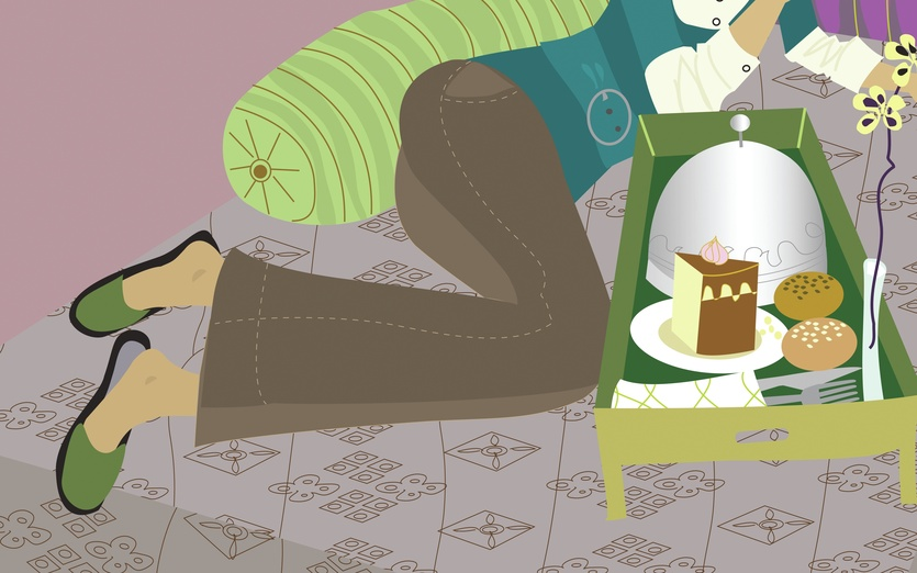 - bed, bedroom, brown, cake, cakes, colored, colorful