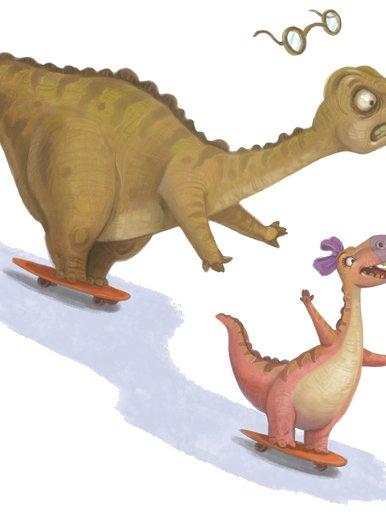 Dinoskaters
