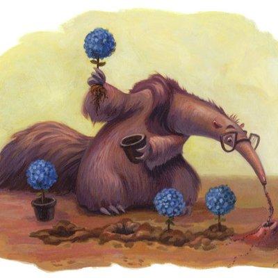 Anteater's Like to Garden