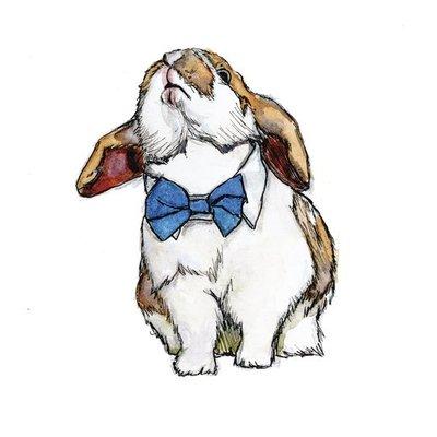 Bow-tie bunny