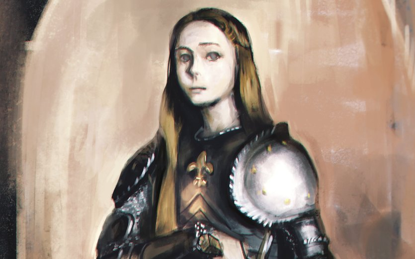 i think armor is really beautiful but its probably uncomfortable lol.  - arc, armor, female, joan, knight, of, strong