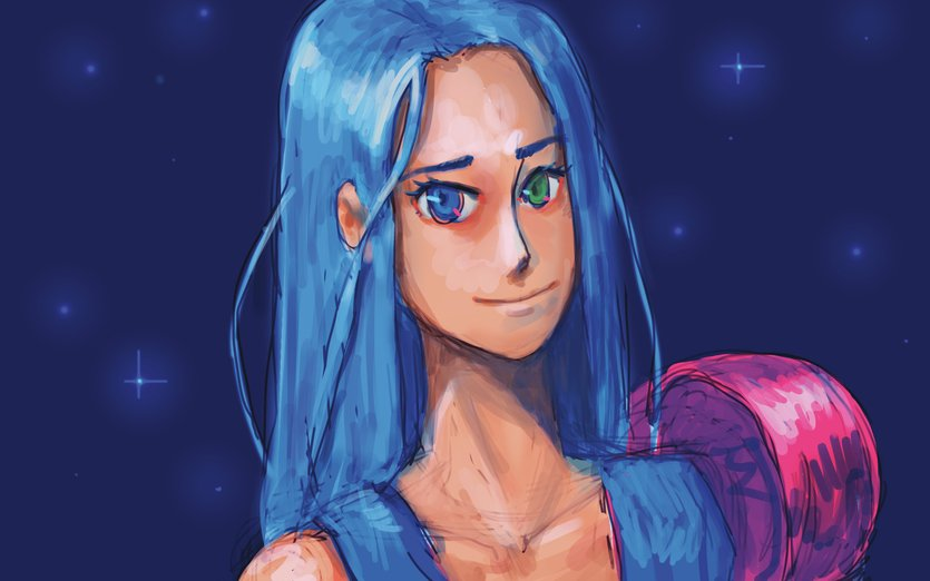 Someone ask on my last art for a close up so I made one. I hope it will help for the stories you all make.