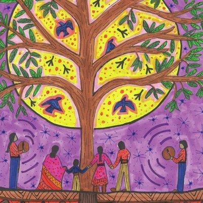 Round dance tree