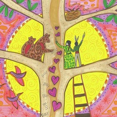 Up tree with bear