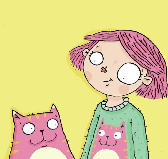- animal, cat, children, cute, jumper