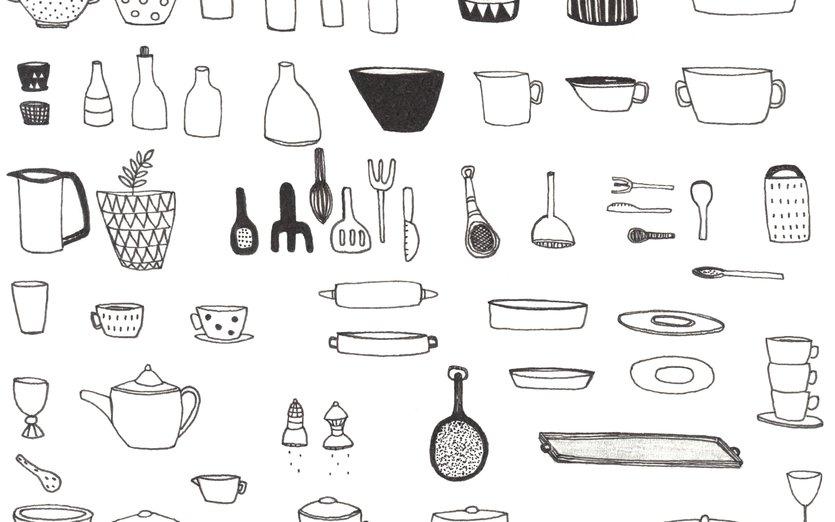 - bowl, cook, cooking, cup, fork, goblet, kettle