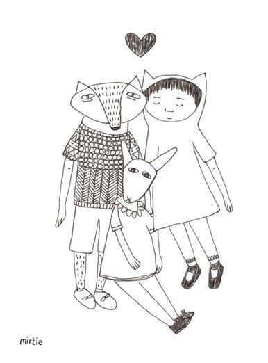 A portrait of friends