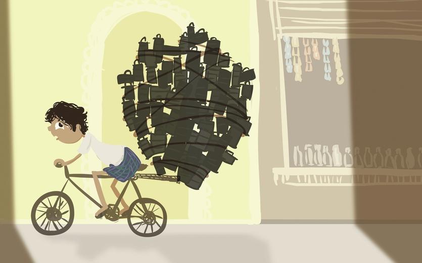 - bike, biking, delivery, desi, funny, india, indian