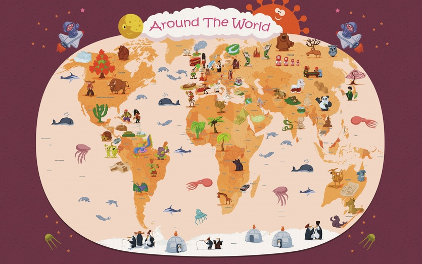 Art around the world lessons tes teach for Art from around the world
