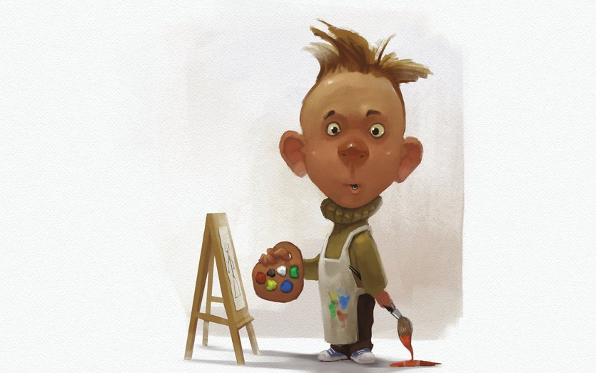 beginner artist by creature design on storybird